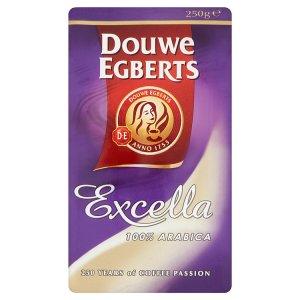 Douwe Egberts Excella 100% arabica pražená mletá káva 250g