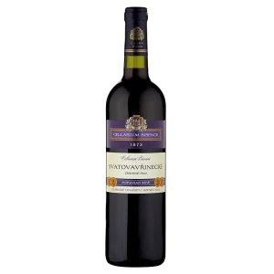 Zámecké Vinařství Bzenec Cellarium Bisencii Svatovavřinecké suché červené víno 75cl