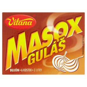 Vitana Masox guláš bujón 72g