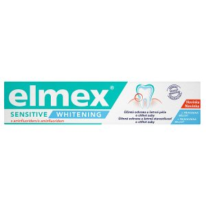 elmex Sensitive Whitening Zubní pasta s aminfluoridem 75ml