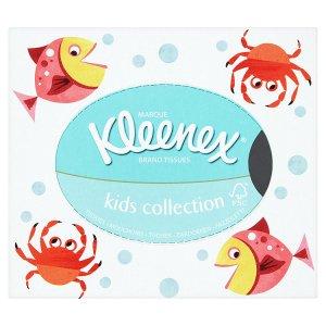 Kleenex Kids collection papírové kapesníky 3 vrstvé 56 ks