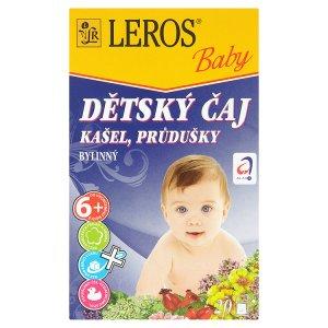 Leros Baby Dětský čaj 20 sáčků, vybrané druhy