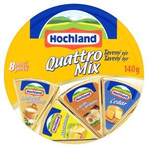 Hochland Quattro mix tavený sýr 140g