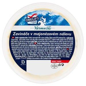 Varmuža Zavináče v majonézovém nálevu 200g