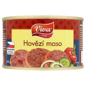 Viva Carne Hovězí maso konzerva 400g