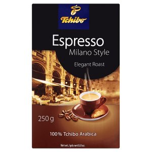 Tchibo Espresso pražená mletá káva 250g, vybrané druhy