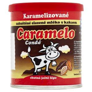 Bohe Milk Condé caramelo zahuštěné slazené mléko s kakaem karamelizované 125g