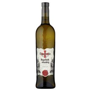 Templářské Sklepy Čejkovice Ryzlink vlašský jakostní bílé suché víno 0,75l
