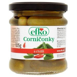 Efko Corničonky s chilli 180g