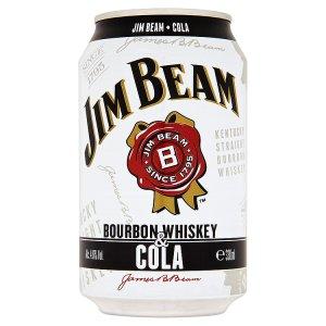 Jim Beam Bourbon nápoj 330ml, vybrané druhy