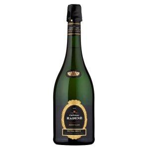 Bohemia Sekt Château Radyně extra brut jakostní šumivé víno bílé 0,75l