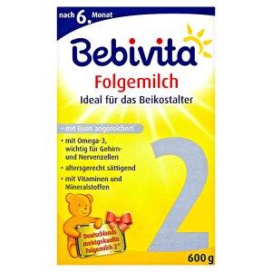 Bebivita 2 Pokračovací mléčná kojenecká výživa 2 x 300g