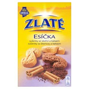 Opavia Zlaté Esíčka sušenky se skořicí a kakaem 220g v akci