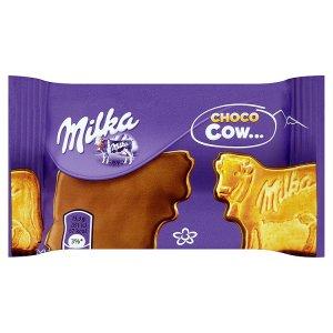Milka Choco cow sušenky polomáčené mléčnou čokoládou 40g