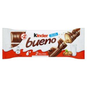 Kinder Bueno 2 x 21,5g, vybrané druhy