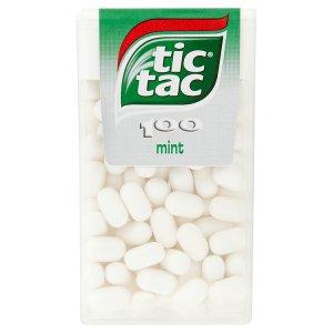 Tic Tac 100 dropsy s mátovou příchutí 49g