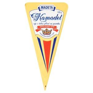 Madeta Kamadet královský sýr s bílou plísní na povrchu 120g