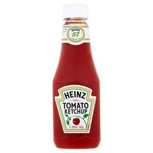 Heinz kečup 342g, vybrané druhy