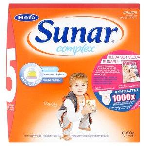 Sunar Complex 5 rozpustný nápoj v prášku 2 x 300g