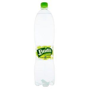 Budiš Jemně perlivý nealkoholický nápoj z minerální vody s příchutí guave 1,5l