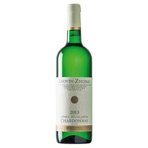 Znovín Znojmo Chardonnay odrůdové jakostní bílé suché víno 0,75l