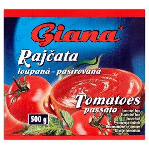Giana Rajčata loupaná pasírovaná 500g