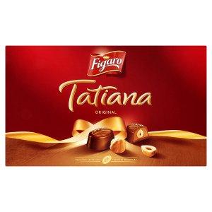 Figaro Tatiana Bonbony z mléčné čokolády s lískooříškovou náplní 140g