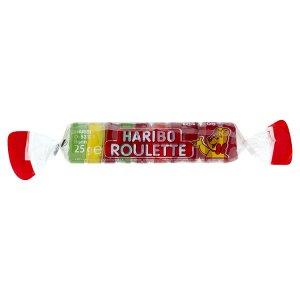 Haribo Roulette želé s ovocnými příchutěmi 25g