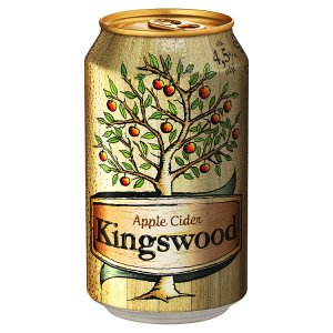 Kingswood Apple cider 0,33l, vybrané druhy