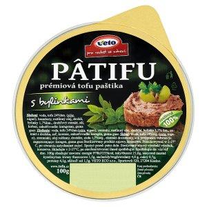 Veto Pâtifu Prémiová tofu paštika s bylinkami 100g