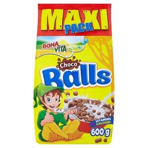 Bona Vita Choco balls cereální kuličky s kakaem 600g