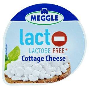 Meggle Bezlaktózový čerstvý sýr cottage 180g