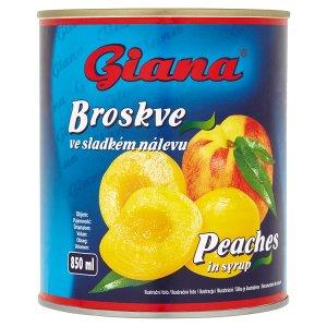 Giana Broskve 820g