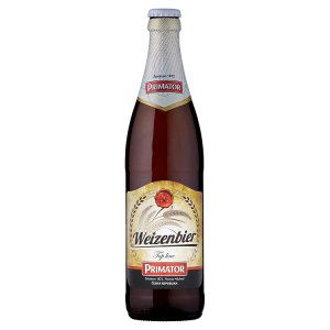 PRIMÁTOR Weizenbier nefiltrované svrchně kvašené pšeničné pivo 0,5l