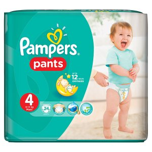 Pampers Pants 4 maxi 24 ks
