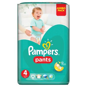 Pampers Pants 4 maxi 52 ks