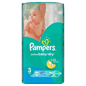 Pampers Active Baby Pleny 3 Midi 54 ks