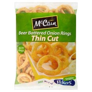McCain Cibulové kroužky v pivním těstíčku 1kg