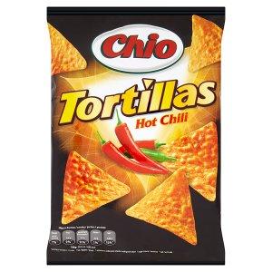 Chio Tortillas Kukuřičný snack 125g, vybrané druhy