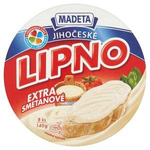 Madeta Jihočeské Lipno tavený sýr 140g, vybrané druhy