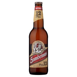 Gambrinus Plná 12 pivo ležák světlý 0,5l
