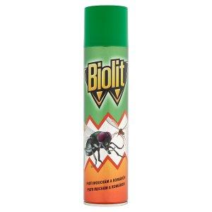 Biolit L 007 Sprej proti mouchám, komárům, vosám a jinému létajícímu hmyzu 400ml