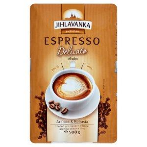 Jihlavanka Espresso delicato střední 500g