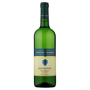 Znovín Znojmo Sauvignon odrůdové víno jakostní suché 0,75l