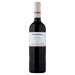 Vinařství Vladimír Tetur Merlot jakostní víno s přívlastkem pozdní sběr červené suché 0,75l