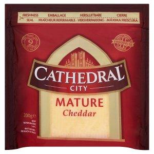 Cathedral City Mature Cheddar anglický, tvrdý sýr 200g
