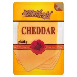 Zlatý Sýr Cheddar 50% plátky 100g