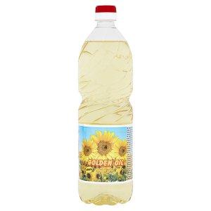 Gold Plus Golden oil slunečnicový rafinovaný olej 1l