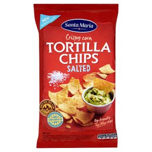 Santa Maria Tortilla chips 185g, vybrané druhy