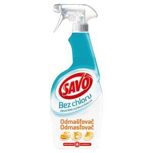 Savo Odmašťovač dezinfekční sprej bez chloru 700ml